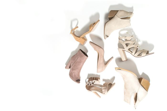 neutral shoe collection heels ankle boots peeptoe